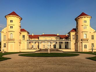 Rheinsberg Palace - Image: Rheinsberg Castle