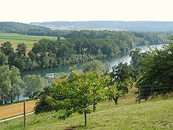 Rhine River at Gailingen