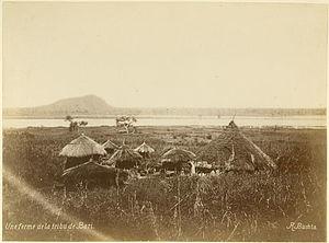 Bari people - Bari homestead late 1870s