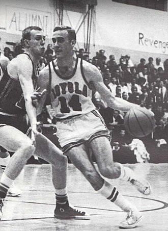 Rick Adelman - Adelman at Loyola University.