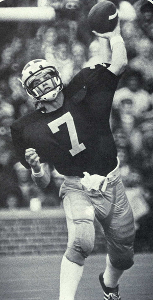 1976 All-Big Ten Conference football team - Quarterback Rick Leach