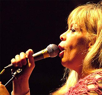 Rickie Lee Jones - Rickie Lee Jones performing on the Legacy Stage on June 15, 2007.