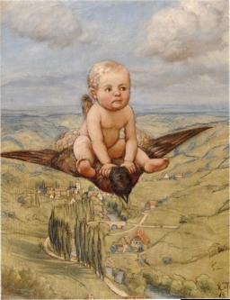 Riding on a Bird (SM sg929)