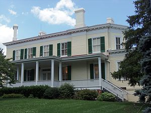 Academy of the Holy Names (Silver Spring, Maryland) - Riggs-Thomson House