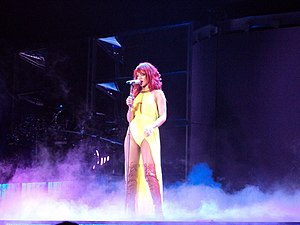 "California King Bed - Rihanna performing ""California King Bed"" in Oakland, California."