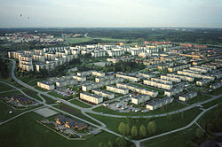 Rinkeby, aerial view