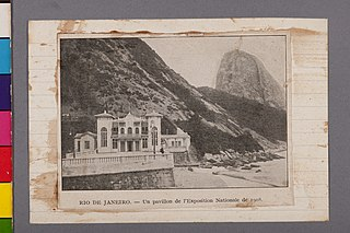 Rio de Janeiro - Un Pavillon de L' Exposition Nationale de 1908