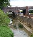 River Cherwell and railway, Bridge Street bridge, Banbury - geograph.org.uk - 1350742.jpg