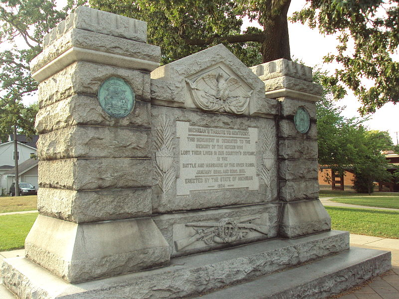File:River Raisin Massacre monument.jpg