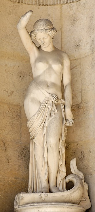 Pierre Hébert - River of life (1855), sculpted decoration of the Cour Carrée in the Louvre
