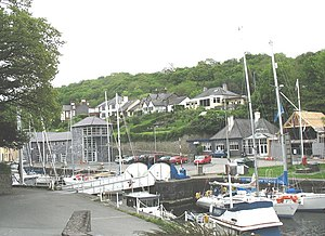 Y Felinheli - Image: Road Bridge at The Marina, Y Felinheli geograph.org.uk 227475