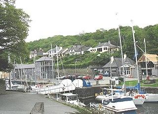 Y Felinheli Human settlement in Wales