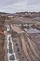 Road construction at E27 by Rudshøgda, Hedmark, Norway.jpg