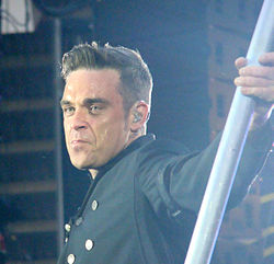 Robbie Williams at Sunderland 2011a crop.jpg