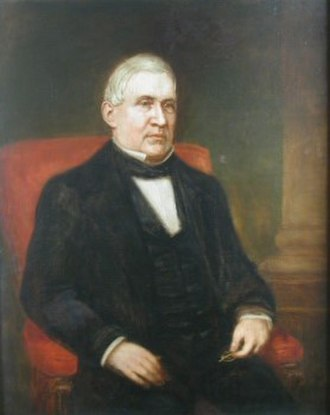 Robert Armstrong (1792–1854) - Portrait of Armstrong by George Dury, c. 1850s