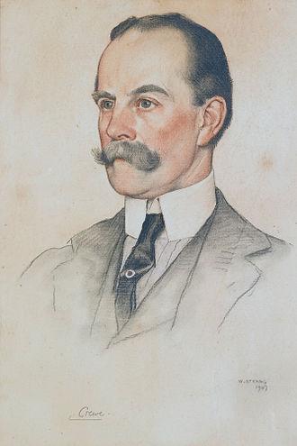 Robert Crewe-Milnes, 1st Marquess of Crewe - Robert Offley Ashburton Milnes, 1st Marquess of Crewe, by William Strang, 1907