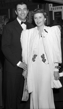 Robert Taylor and Barbara Stanwyck in 1941
