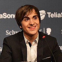 Roberto Bellarosa, ESC2013 press conference 04 (crop).jpg