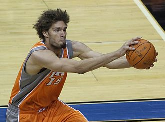 Robin Lopez - Lopez with the Suns in January 2011