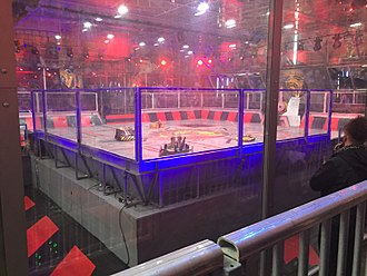 Robot Wars (TV series) - The Renfrew arena used for the rebooted series