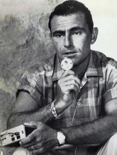 Rod Serling dictating script 1959