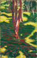 Roderic O'Conor, The Glade, 1892, Oil on canvas, 92 x 59.6 cm, MoMA, 270.1956.png