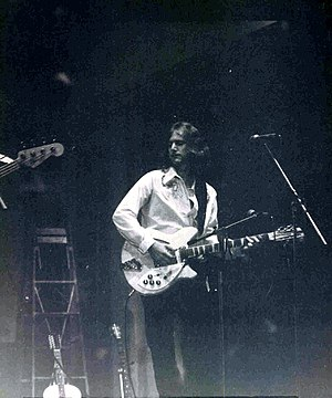 Roger McGuinn - McGuinn with The Byrds at a concert held at Washington University in St. Louis (September 1972)