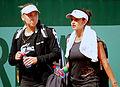Roland Garros 2011 Elena Vesnina & Sania Mirza.jpg