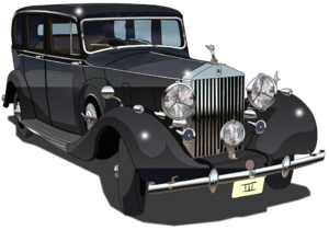 Rolls Royce Phantom III 1936 transparent.png