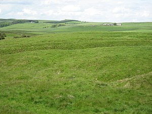 Haltwhistle Burn - Site of Haltwhistle Burn Roman Fort