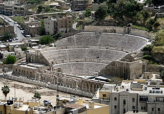 theatre building built in ancient Roman time