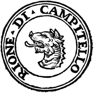Campitelli - Logo of the rione