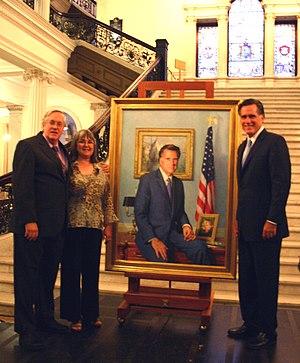 Mitt Romney and Richard Whitney
