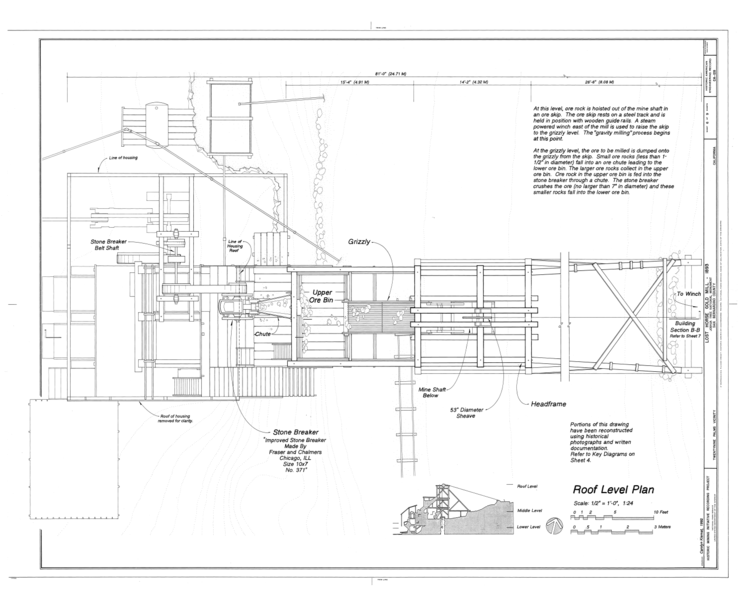 File Roof Level Plan Lost Horse Gold Mill Twentynine