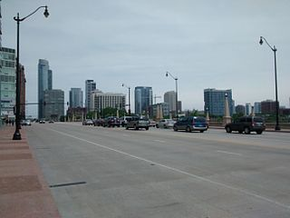 Roosevelt Road thoroughfare in Chicago, United States