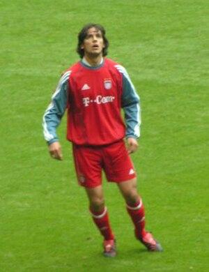 Roque Santa Cruz - Santa Cruz with Bayern Munich.