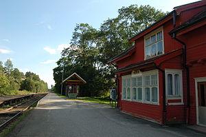 Røra Station - Image: Rora Station 1
