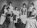 Rosa Buchthal mit Geschwistern 1895.jpg