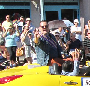 Ross Mathews - Ross Mathews at Palm Springs Pride Parade in 2013