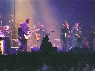 Roxy Music - Roxy Music on stage during concert at London's ExCeL Exhibition Centre, July 2006