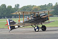 Royal Aircraft Factory SE5a James McCudden Taxi Out 01 Dawn Patrol NMUSAF 26Sept09 (14413256000).jpg