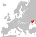 Rozsah Slobodného územia na vtedajšej mape Európy.png
