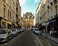 Rue de Birague, entrance to Place des Vosges, July 2013.jpg