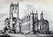 RuinsOfSaintBertin1850