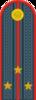 Russian police senior lieutenant
