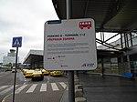 Ruzyně, letiště, Terminál 1, zastávka LP k parkingu D.jpg