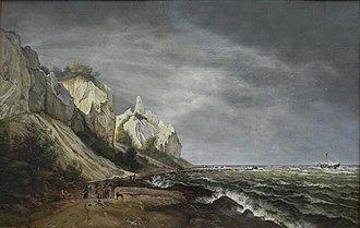 Frederik Sødring - Image: Sødring Kreidefelsen Møn
