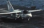 S-3A Viking of VS-22 lands on USS Saratoga (CV-60) in 1976.jpg