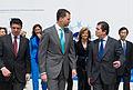 S.A.R. el Príncipe Felipe con el presidente de Endesa, Borja Prado.jpg