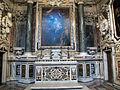 S. martino, chiesa, cappella di sant'ugo, altare con pala di massimo stanzione, 1644.JPG